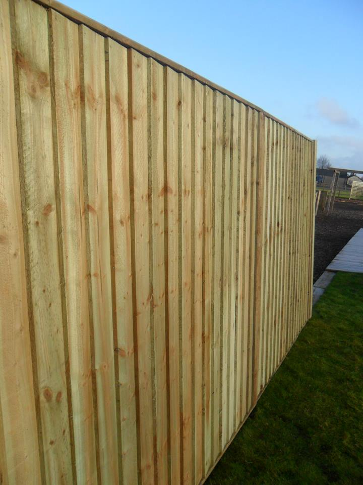 featheredge closeboard fence panel charltons timberstore. Black Bedroom Furniture Sets. Home Design Ideas