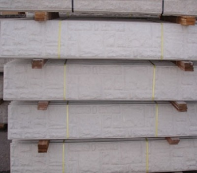 Rock Face Concrete Gravel Board Charltons Timberstore