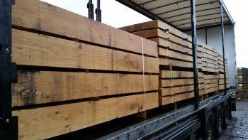 Oak Sleeper-post delivery