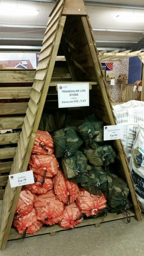 Charltons Triangluar Log store