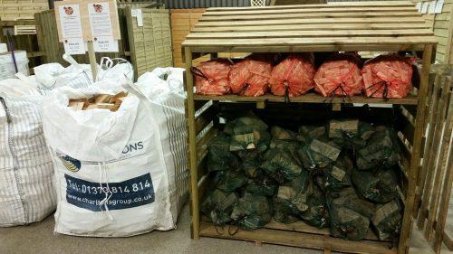 Charltons Rectangular Log store