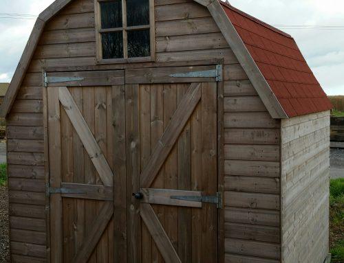 Ex-Display 8 x 8 Dutch Barn Only £995