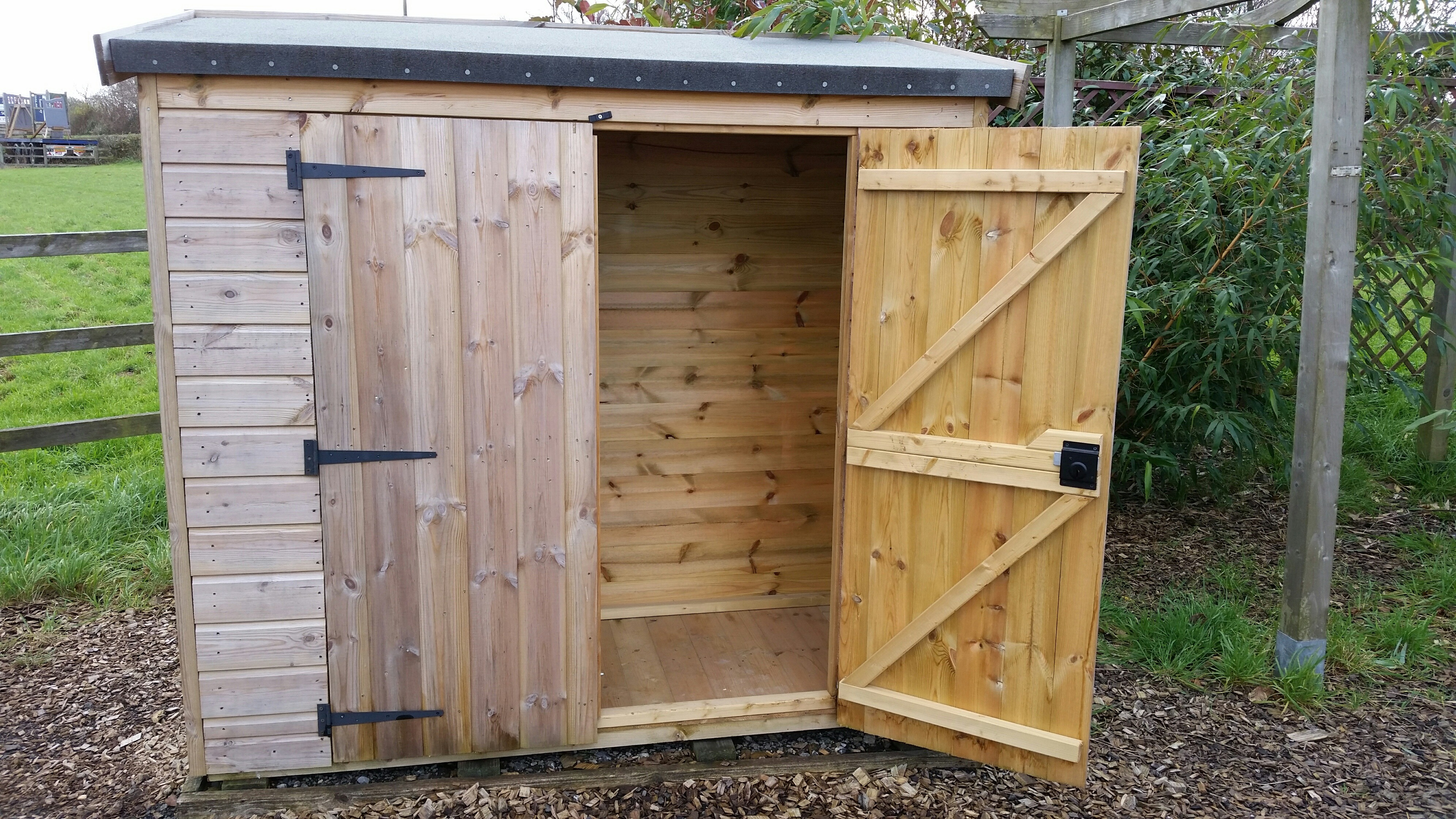 ex display 8 x 6 hipex shed only 400 sold charltons timber garden sheds 6