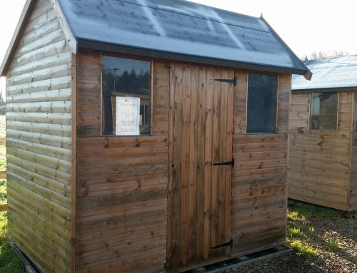 Ex-display 8 x 6 Hipex Shed only £400