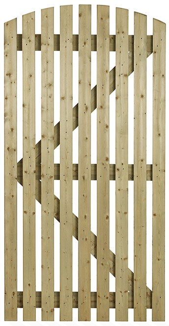 Orchard-Curve-wooden-side-gate