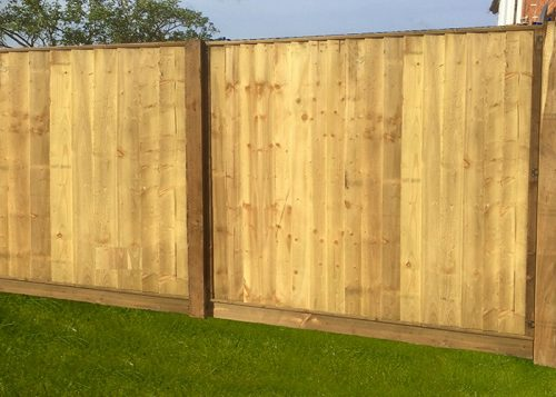 front view of Featheredge Panels
