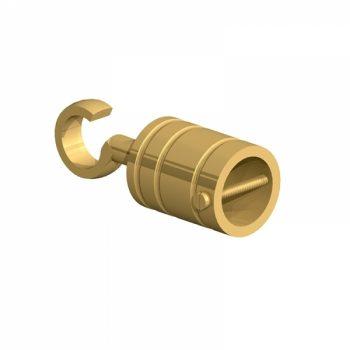 28mm Rope hook Brass