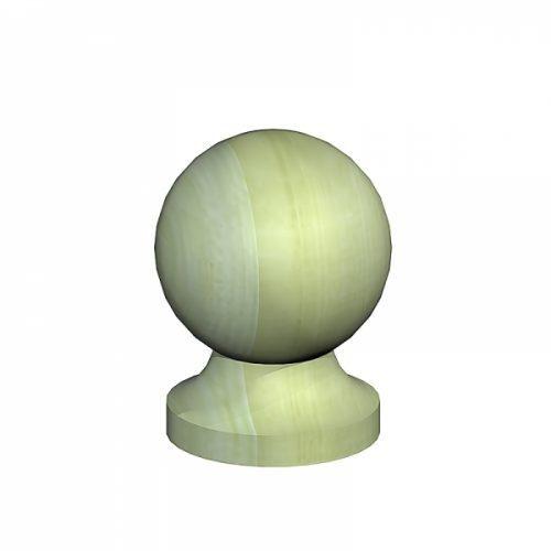 Ball & Collar Post Finial