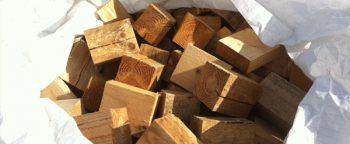 Sawmill off cuts