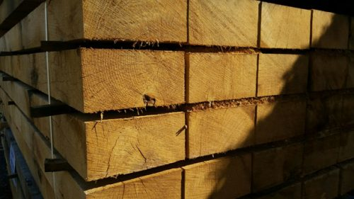 Pack of Oak Sleepers