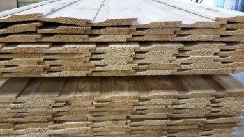 Cedar shiplap