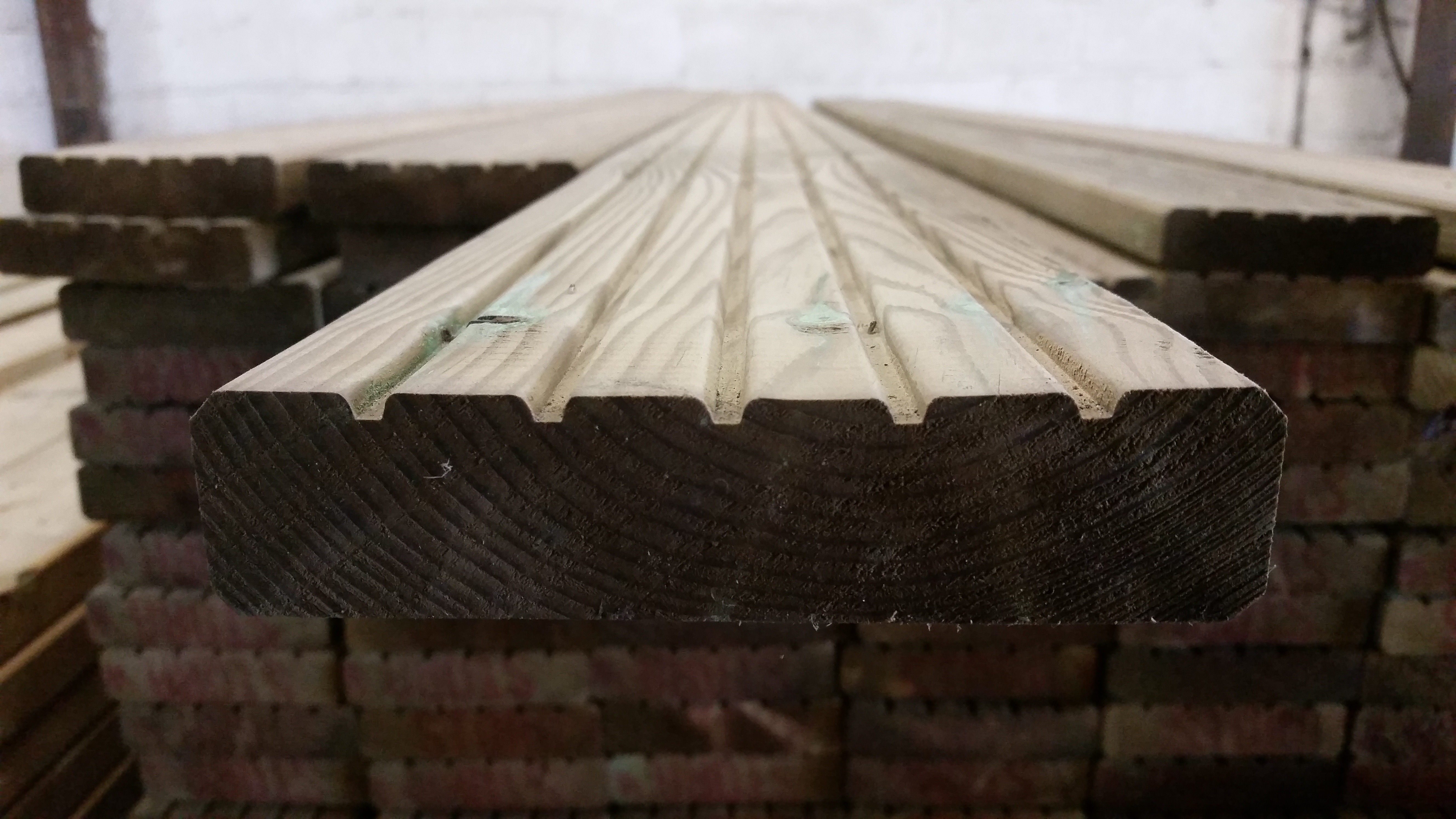Standing Decking Board Profile