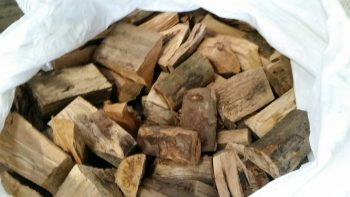 Hardwood Split Logs
