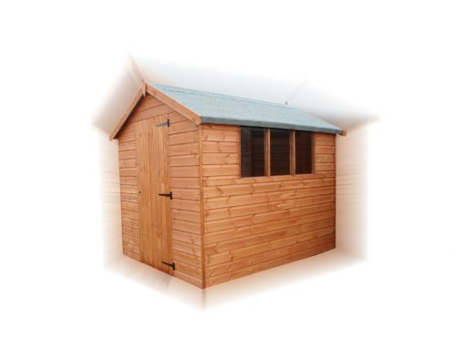 Stocked Standard 8 x 6 Apex Shed Only £437
