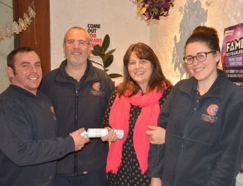 Christmas Donation Raised For Mendip YMCA