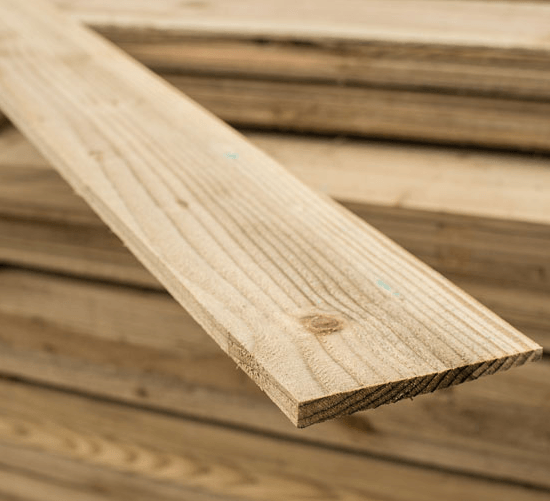 Individual Featheredge Fencing boards